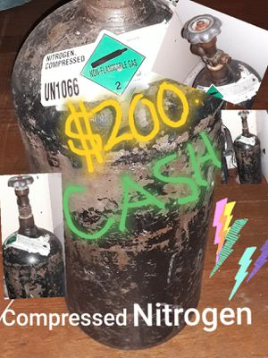 Compressed nitrogen $200 cash only {contact info removed} for Sale in San Antonio, TX