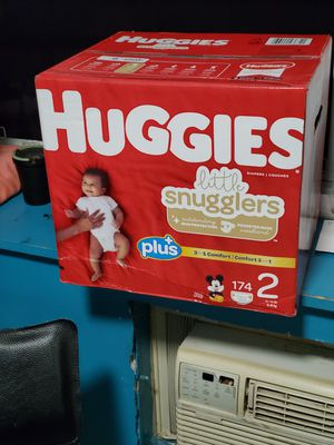 huggies size 2 for Sale in The Bronx, NY