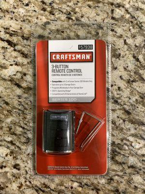 Craftsman 3 Button Remote Control Garage Door Opener for Sale in Addison, IL