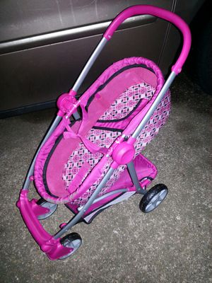 Baby doll bassinet stroller great condition for Sale in Glen Burnie, MD