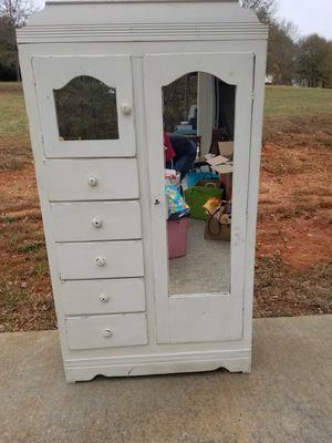 Beautiful Old Antique Wadrobe Cabinet or Dresser for Sale in Inman, SC