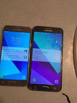 Two metro pcs Samsung phones for Sale in Orlando, FL