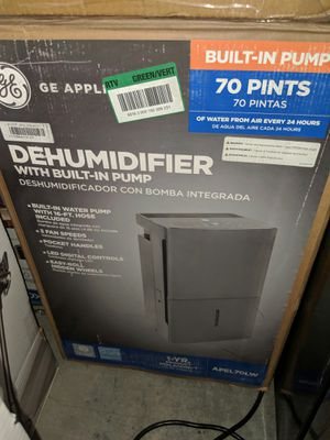 New GE 70 pt. Dehumidifier with Built-In Pump, ENERGY STAR for Sale in Euless, TX