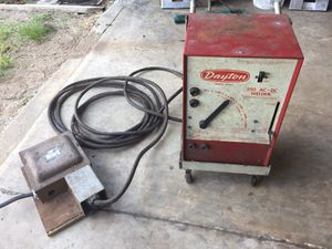 Dayton 250amp welder with cart leads for Sale in Winter Haven, FL