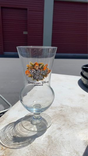 Collectible Disney rainforest cafe glass for Sale in San Diego, CA