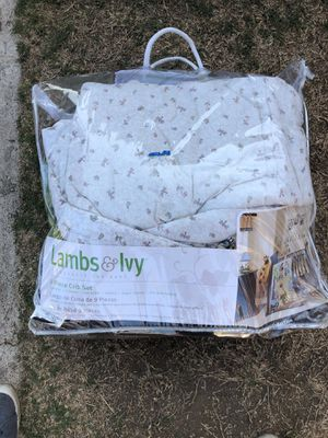 9 piece Crib Set for Sale in Hawthorne, CA