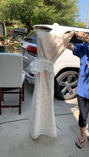 Wedding dress size 10 for Sale in FAIR OAKS, TX