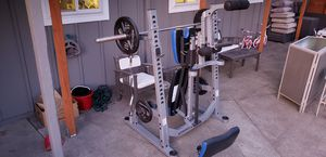 Nautilus folding weight rack for Sale in Portland, OR