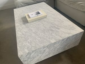 All Marble West Elm Coffee Table for Sale in Greenville, SC