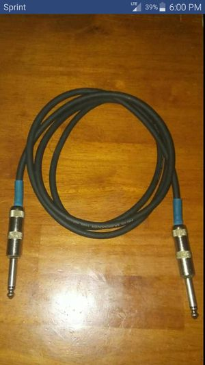 Guitar cable for Sale in Bettendorf, IA