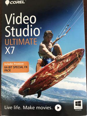 Video Studio Ultimate X7 for Sale in St. Petersburg, FL