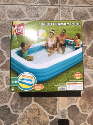 PlayDay 10 Foot Family Inflatable Pool for Sale in Las Vegas, NV