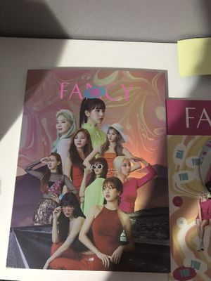 FANCY YOU TWICE KPOP ALBUM + PHOTOCARDS for Sale in Tacoma, WA