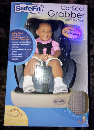 Safe Fit Car seat Grabber Non Slip Mat and seat protector , Tan for Sale in Taylors, SC