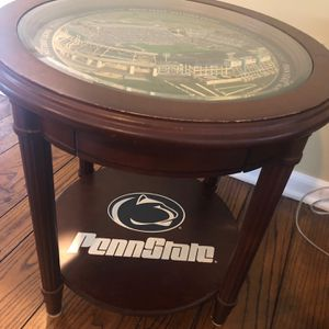 Penn State Beaver Stadium End Table By Danbury Mint $250 Obo for Sale in Hershey, PA