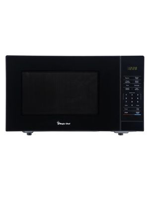 Magic Chef 1.1 cu. ft. Countertop Microwave in Black with Gray Cavity for Sale in Phoenix, AZ