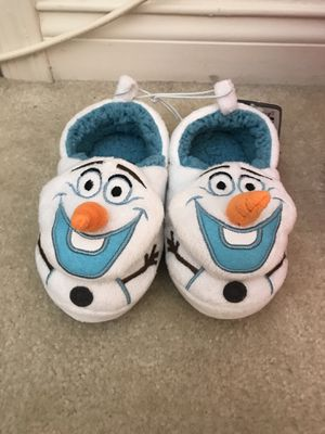 NEW Disney Size 7/8 Olaf Slippers $15 for Sale in Glendora, CA