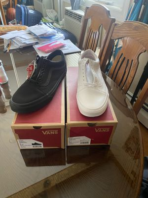 Vans size 10.5 both brand new for Sale in Chicago, IL