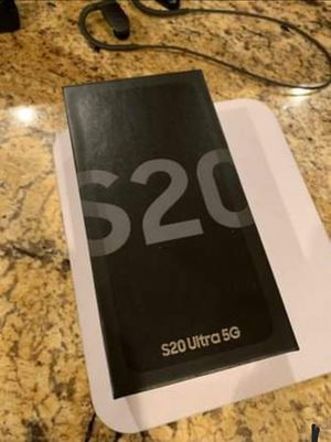 Samsung Galaxy S20 Ultra 5G Unlocked 10/10 Condition for Sale in Menifee, CA