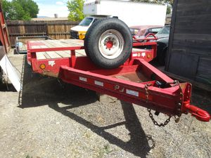 2015 PJ 22 ft deck over for Sale in Grand Junction, CO