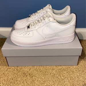 Nike Air Force 1 White Brand New Mens Sizes 9.5,10,12 for Sale in Dunlap, IL