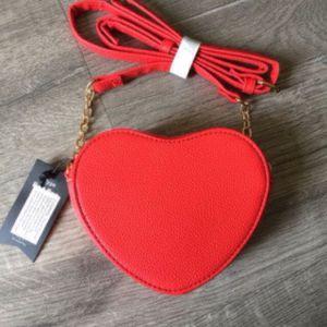 Red ❤️ Heart CrossBody Statement Purse for Sale in Orange, CA