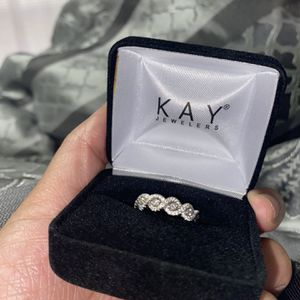 14K Solid White Gold Wedding Band for Sale in Haines City, FL