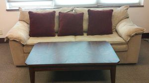 Sofa with coffee table for Sale in Affton, MO