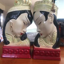 Ceramic Oriental Bookends for Sale in Indianapolis,  IN