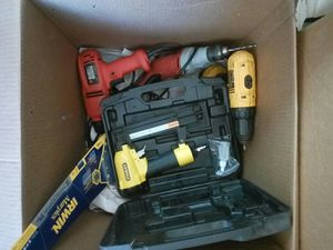 Power tools (box) for Sale in Queen Creek, AZ