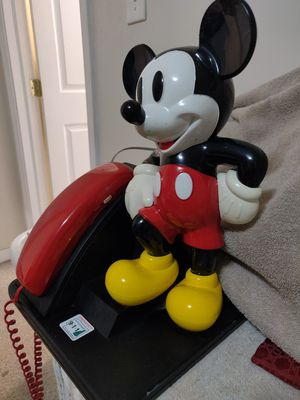 Disney's Mickey Mouse Telephone for Sale in Seymour, CT