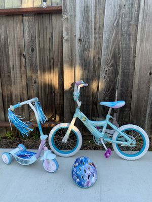 Disney Frozen bike and scooter set for Sale in Union City, CA