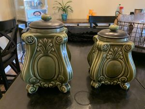 Ceramic Canisters/jars for Sale in Beaumont, TX
