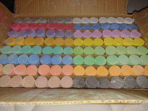 112 pieces sidewalk chalk for Sale in Cypress Gardens, FL