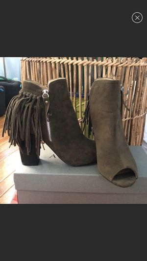 Open toe booties for Sale in New York, NY