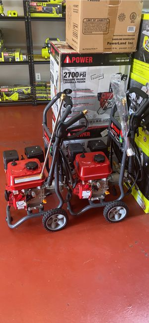 Brand new Ipower 2700 psi gas pressure washers only asking $180 firm!!! for Sale in La Habra, CA