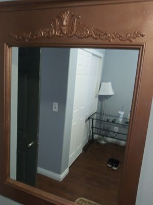Reduced ** Oversized Wall Mirror 52in H x 36in W for Sale in Henderson, NV