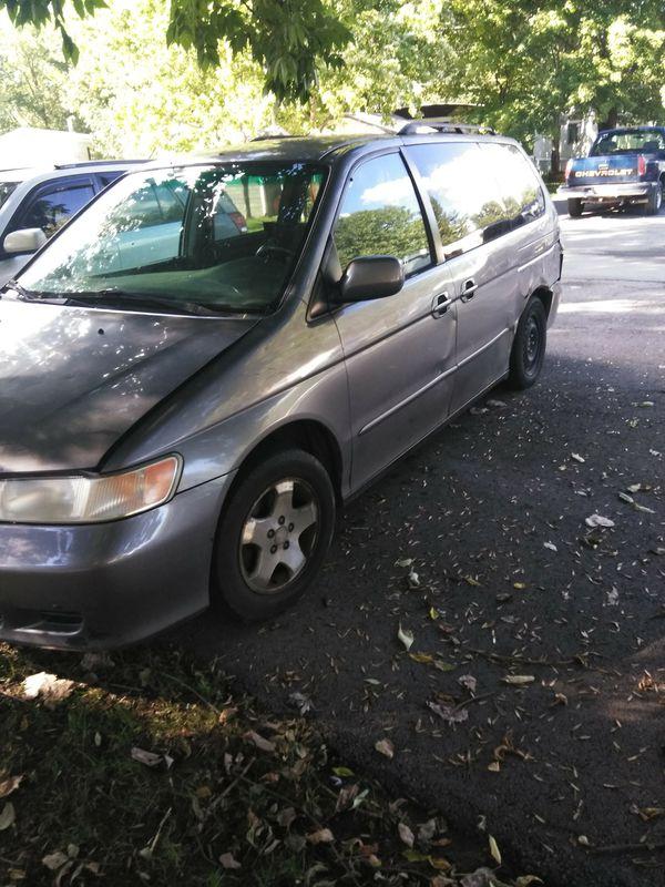 Honda Odyssey runs and drives