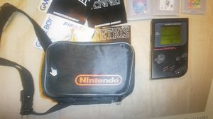 Original nintendo game boy with case and games for Sale in Pawtucket, RI