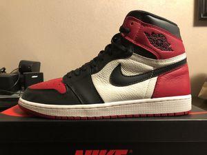 Jordan 1 'Bred Toe' for Sale in Hacienda Heights, CA