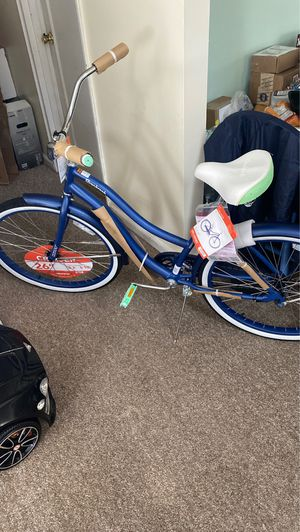 "Huffy 26"" Cranbrook Women's Comfort Cruiser Bike, Blue for Sale in South Hempstead, NY"
