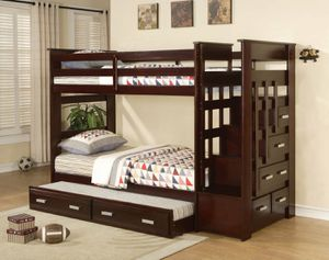 Bunk bed $50 down 90 days same as cash for Sale in Fresno, CA