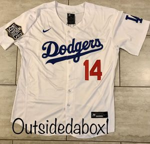 KIKE HERNANDEZ DODGERS WHITE ⚾️BASEBALL ⚾️ MEN'S JERSEY FAST 💨 SHIPPING 📦 for Sale in Montclair, CA
