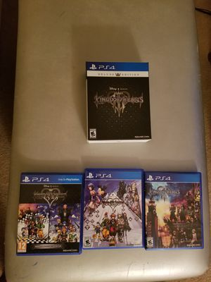Complete Kingdom Hearts series for Sale in Fairfax, VA