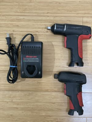 Snap On 7.2v Impact and Screwdriver Set With Charger for Sale in Blue Bell, PA