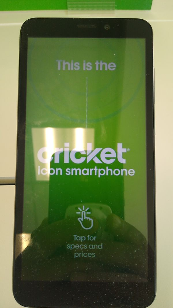 Cricket Icon smartphone