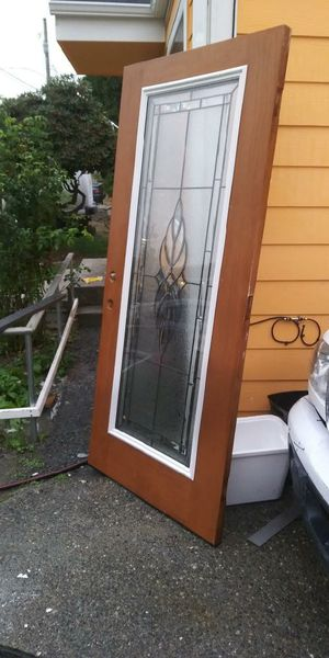 Therma Tru Exterior Door for Sale in Tacoma, WA