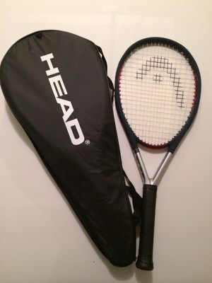 Head titanium tennis racket like new with case for Sale in Seattle, WA