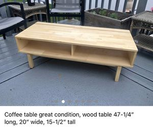 Coffee table/ tv stand for Sale in Winthrop, MA