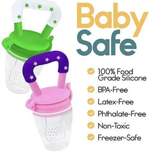 Baby fresh food feeder pacifier for Sale in Johnson City, NY